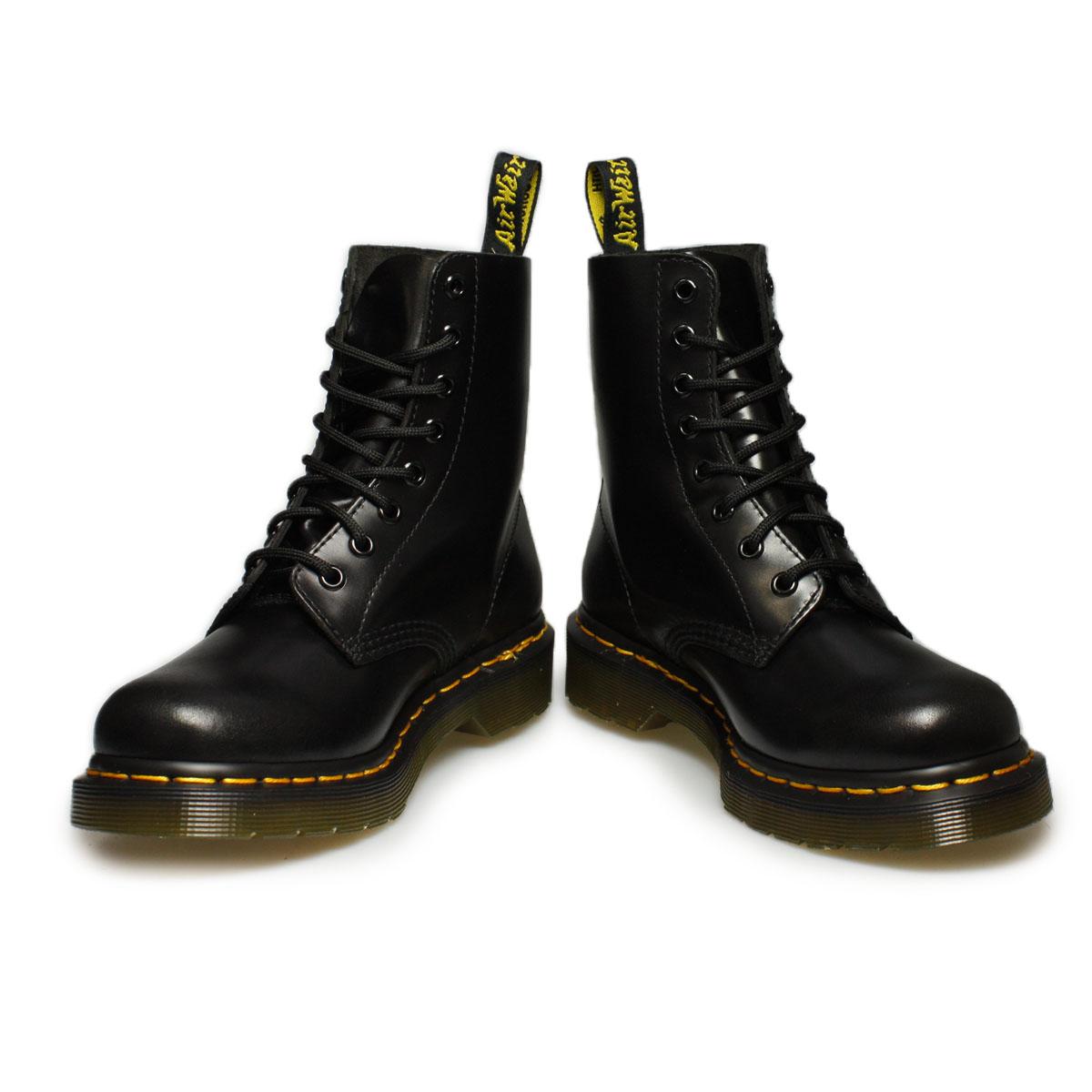 dr martens black pascal buttero boots size 3 8 ebay
