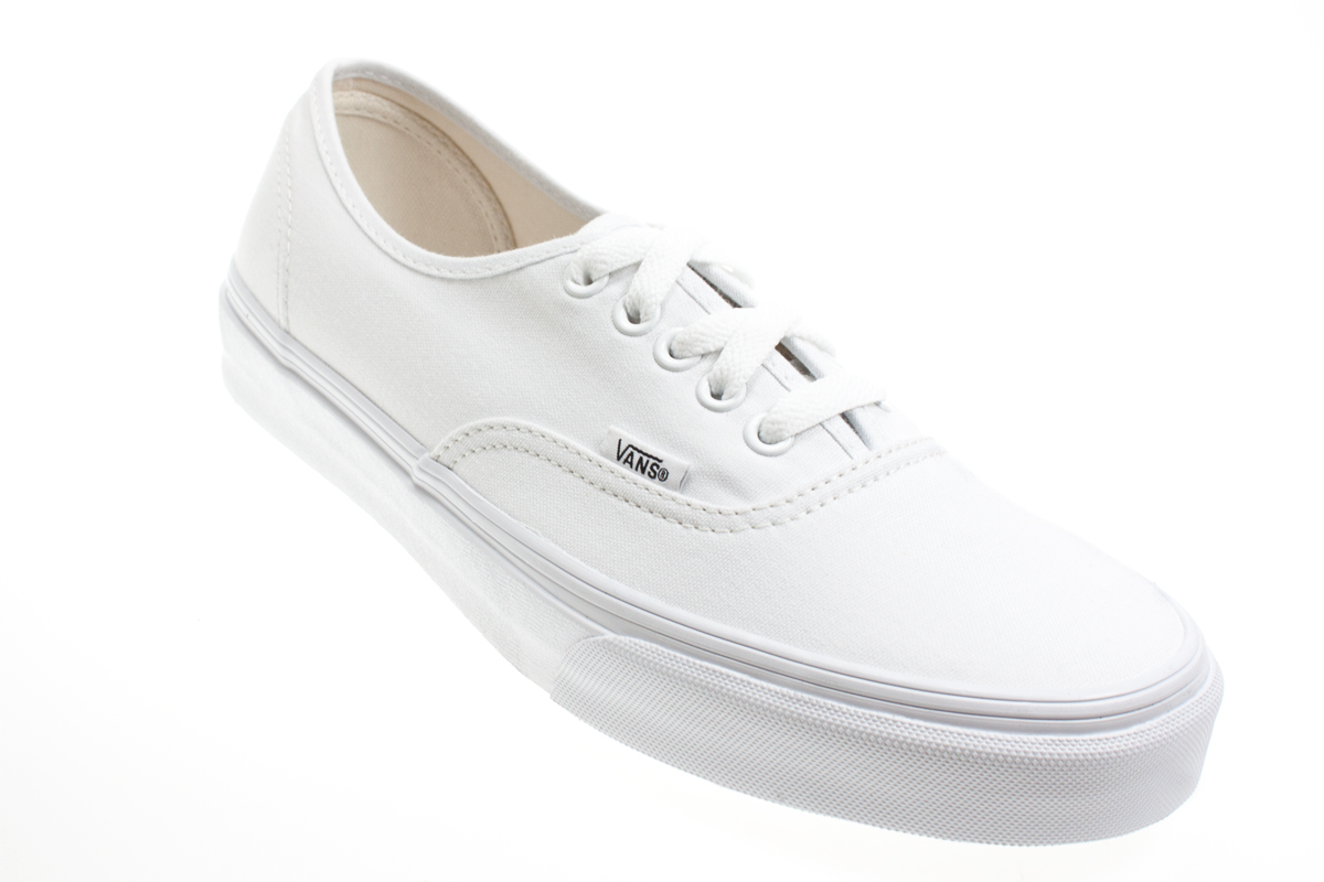 vans authentic white canvas mens womens unisex sneakers