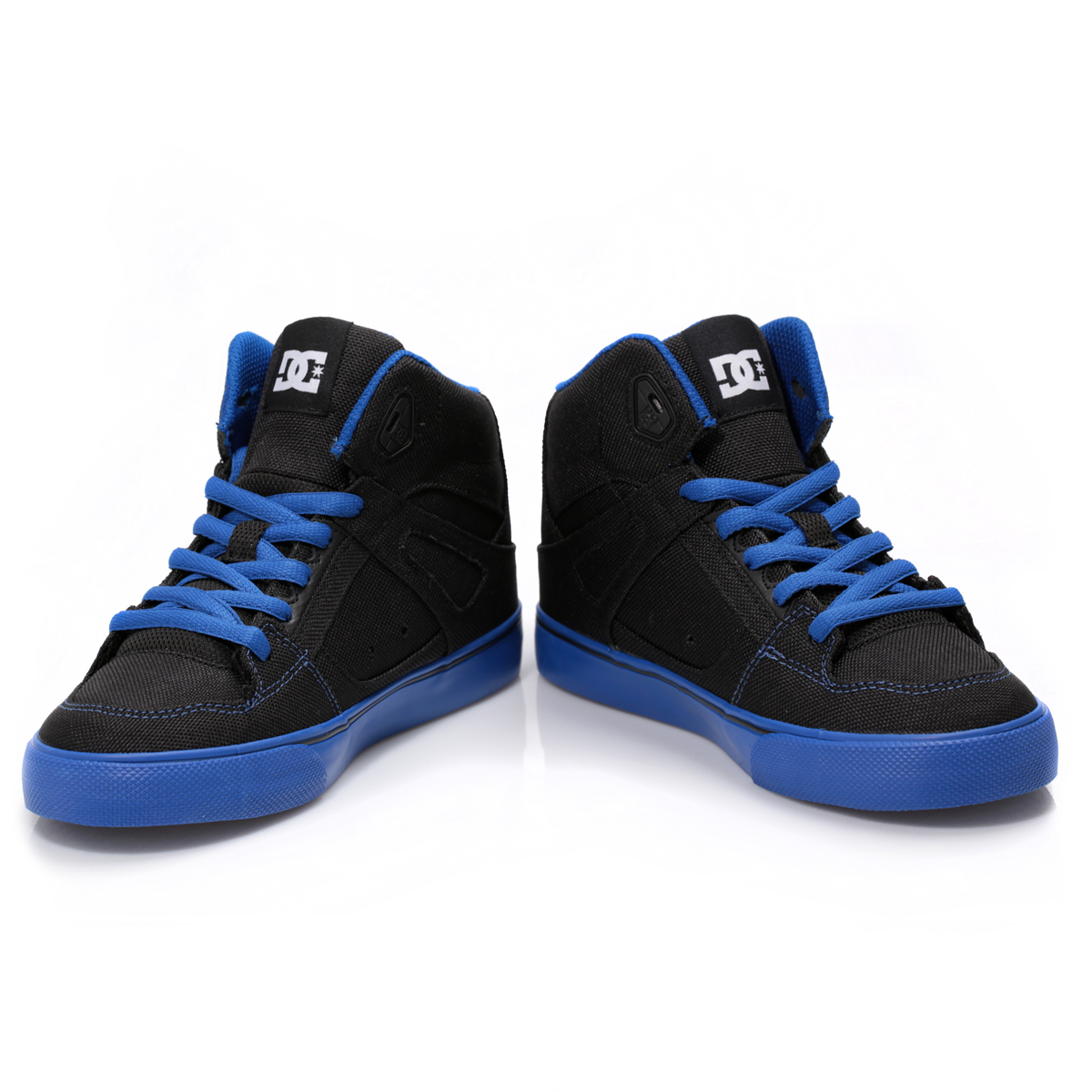 Dc Shoes Kids Boys Size   High Tops Blue