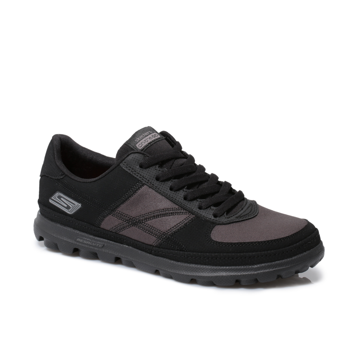 skechers on the go overcome black womens trainers sneakers