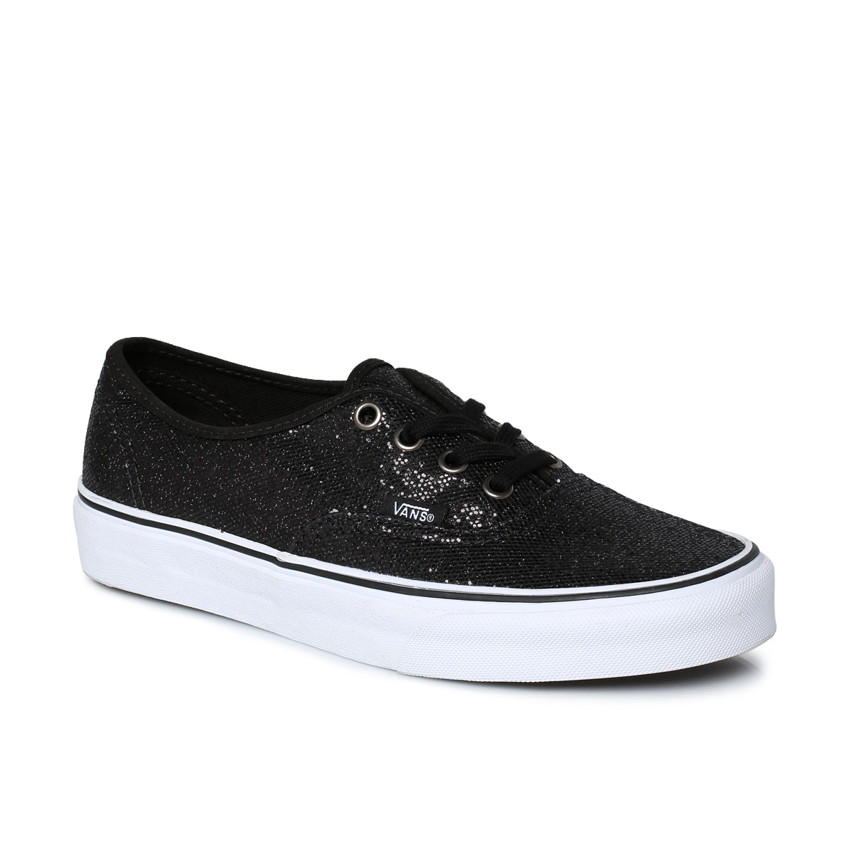 vans authentic black womens trainers