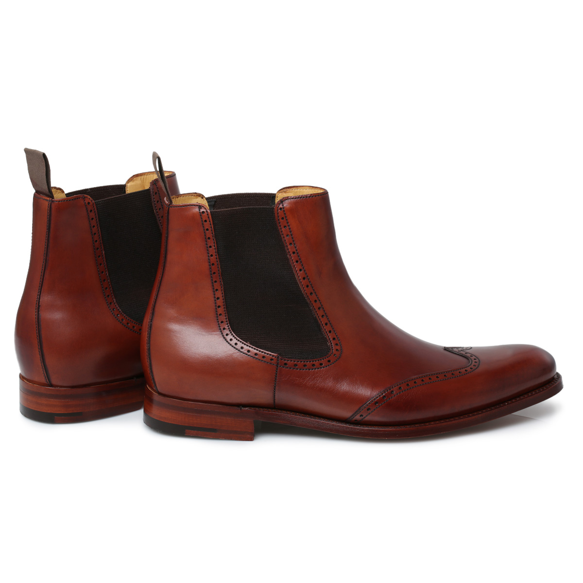 Mens Chelsea Boots. Need a style reboot? Upgrade your shoe collection with men's Chelsea boots. Sleek and stylish, this slip-on design is a welcome addition to any guy's wardrobe.