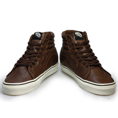 5af4ace621c3 Vans Leather High Tops littleonesequipmenthire.co.uk