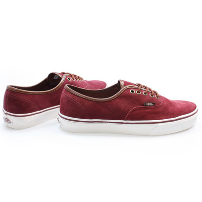 womens vans authentic trainers red