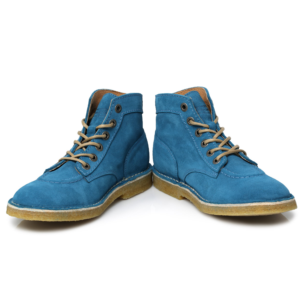 Kickers Blue Kick Legend Suede Mens Boots Size 7-11 | eBay