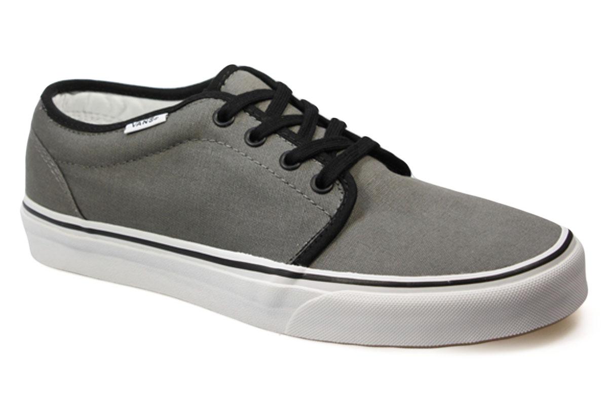 vans 106 pewter black grey mens womens shoes trainers
