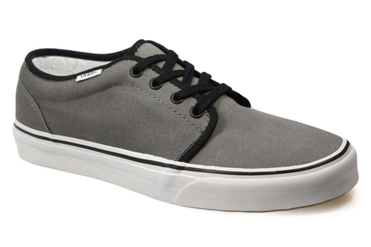 vans 106 pewter black grey mens womens shoes trainers