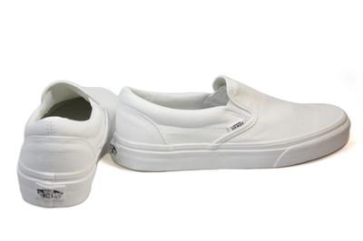 vans white classic womens