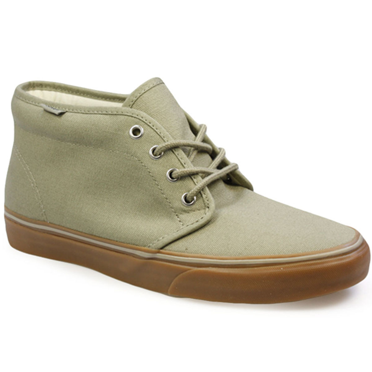 Vans-Chukka-Green-High-Top-Canvas-Mens-Womens-Trainers-Sneakers-Shoes
