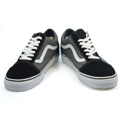 vans old skool black grey white