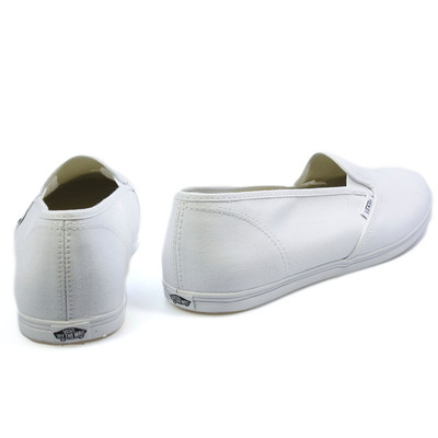 Skidbuster Shoes: Women's White Leather Non-Slip Work Shoes 5085