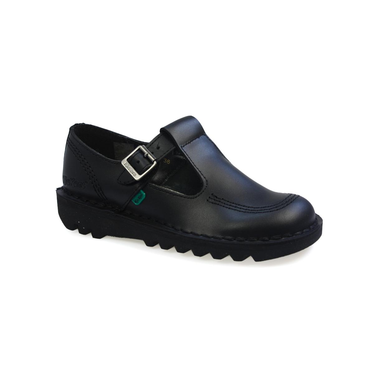 Black kicker sandals - Image Is Loading Kickers Kick Lo Aztec W Core Black Leather
