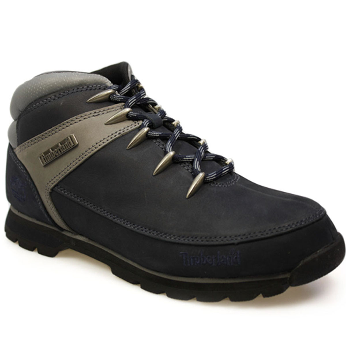 Unique Timberland Timberland Euro Brook Mens Hiker Boots Navy In Blue For Men (navy) | Lyst