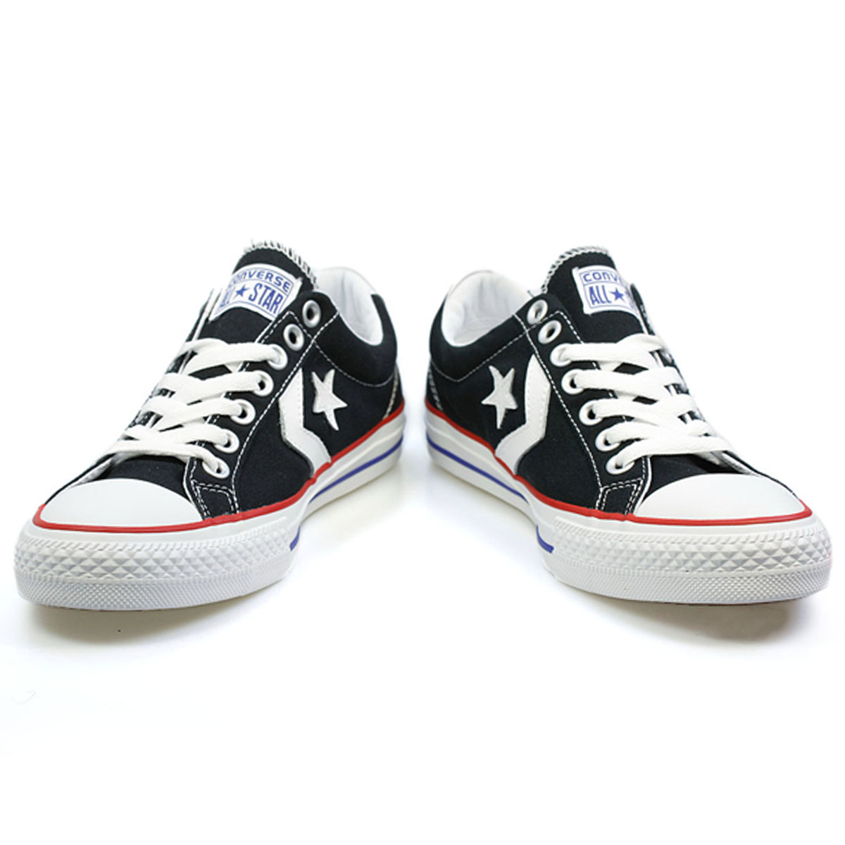 converse star player ev ox black and white canvas low top. Black Bedroom Furniture Sets. Home Design Ideas