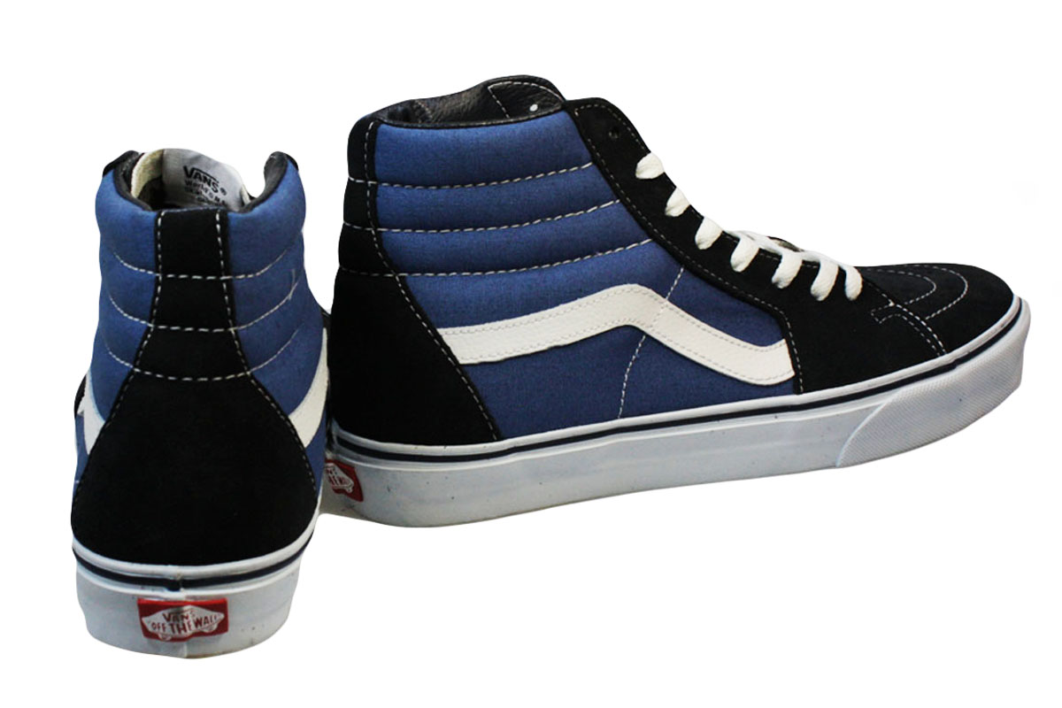 Vans High Tops Blue oxforddynamics.co.uk