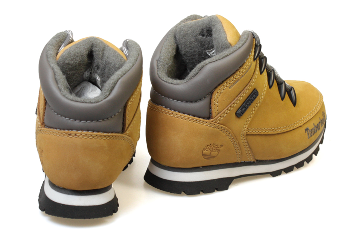 Timberland Euro Sprint Toddler Kids Wheat Brown Ankle