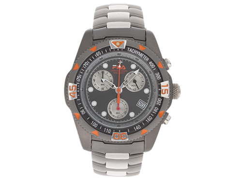 Fila gents skyrunner titanium chronograph watch fa 391 32 midsize new ebay for Fila watches