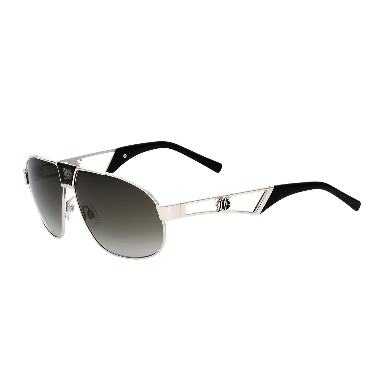 john galliano cool mens metal sunglasses jg0051 16b silver