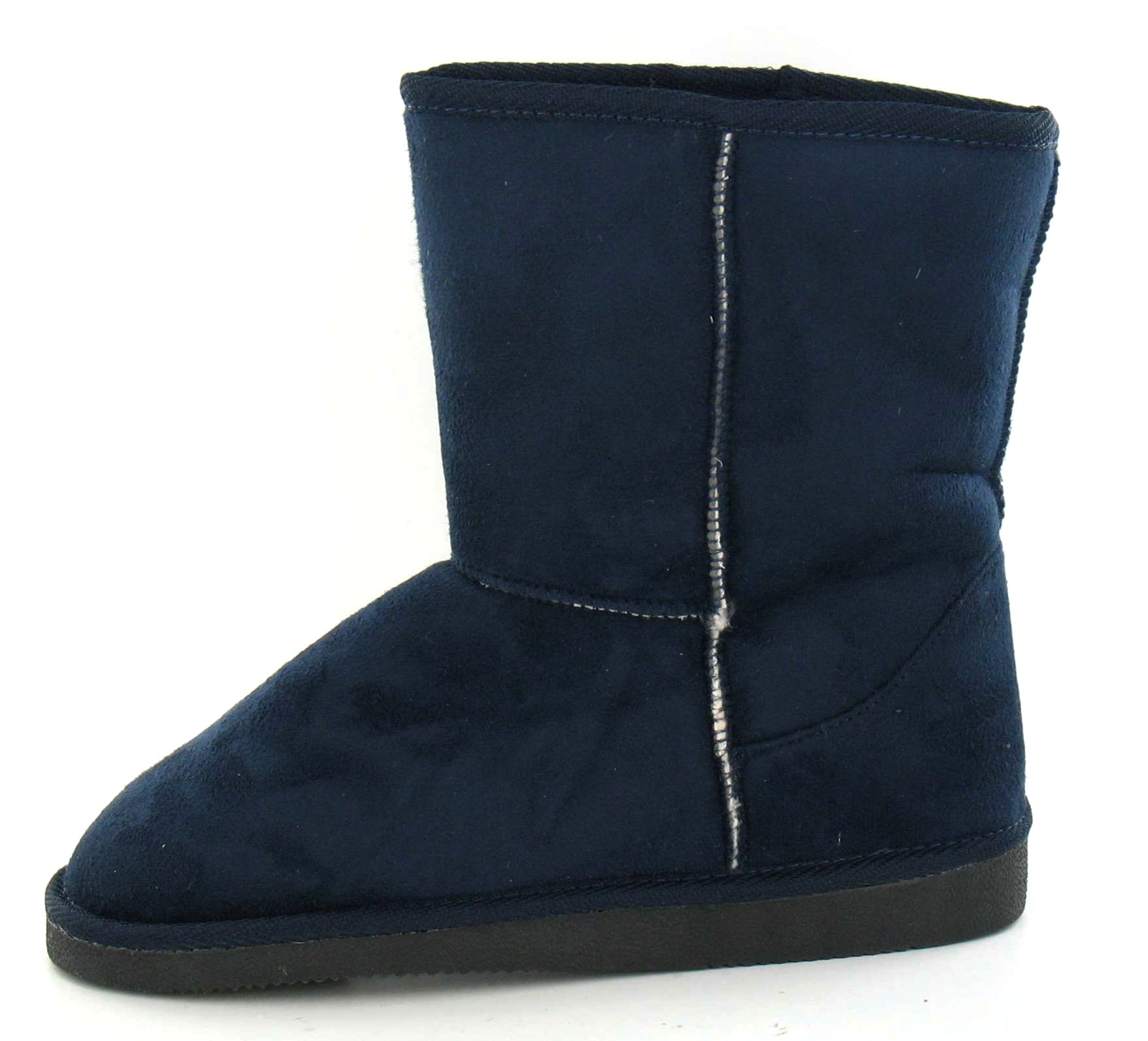 Spot On Flat Snugg Ankle Boot