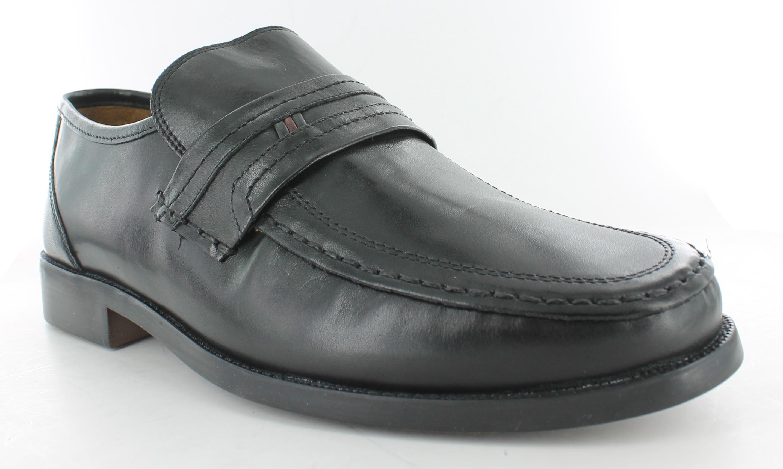 mens clarks bezel edge formal slip on shoes wide h