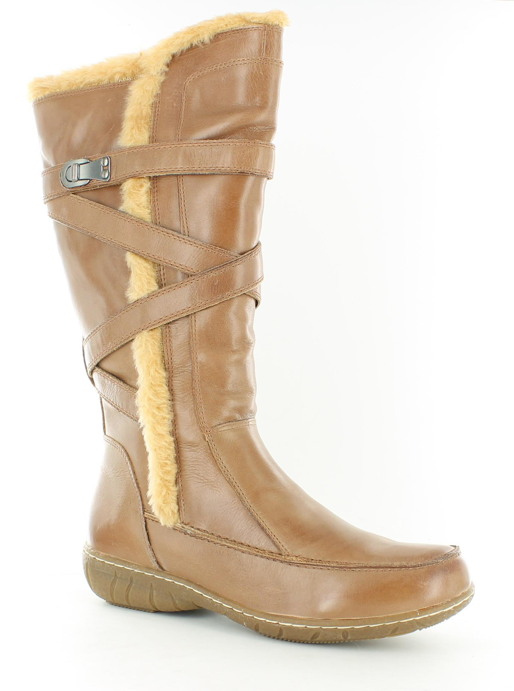 Amazing Hush Puppies Chamber 14 Leather Boots For Women In Tan Leather