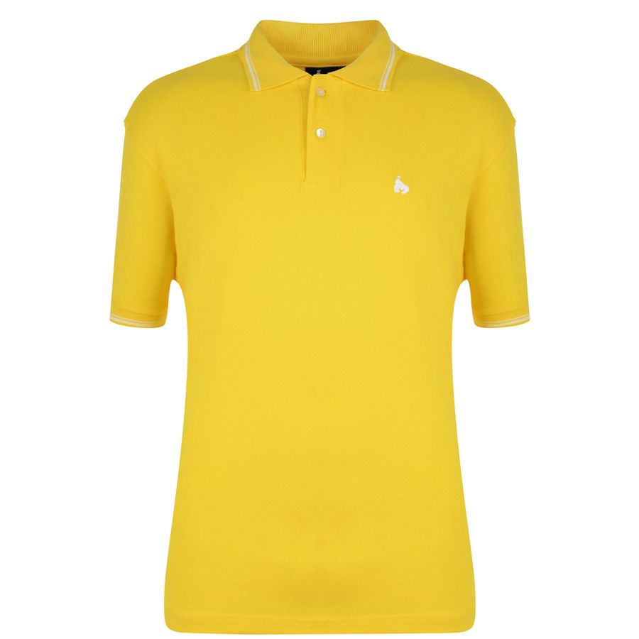 Money Ape Polo Shirt In Yellow Ebay