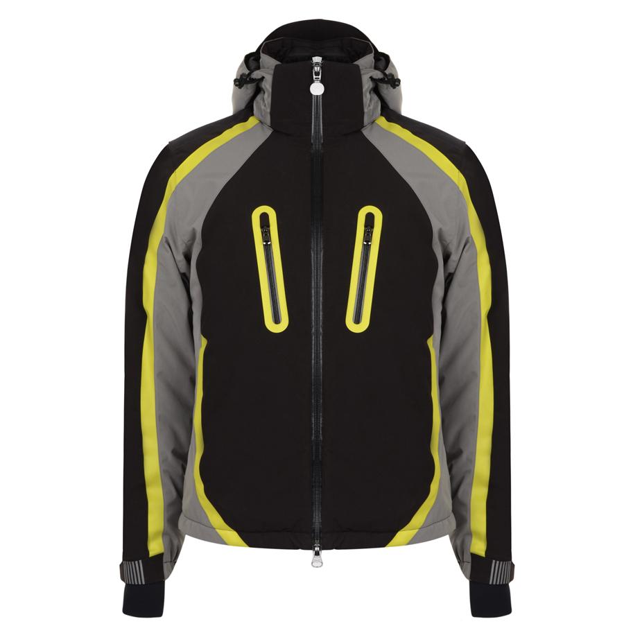EMPORIO ARMANI EA7 EA7 Fluorescent Contrast Ski Jacket In