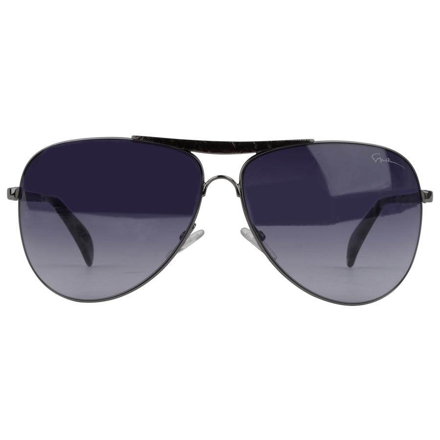 Giorgio Armani Glasses Black Frame : GIORGIO ARMANI Metal Frame Aviators in BLACK eBay