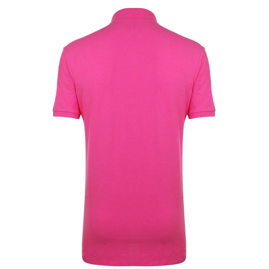 Pink polo logo