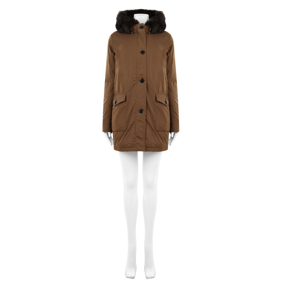 maison scotch cotton canvas hooded parka in kakhi ebay. Black Bedroom Furniture Sets. Home Design Ideas