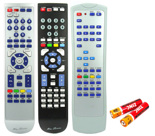 Panasonic SA-PM19 Remote Control Replacement with 2 free Batteries