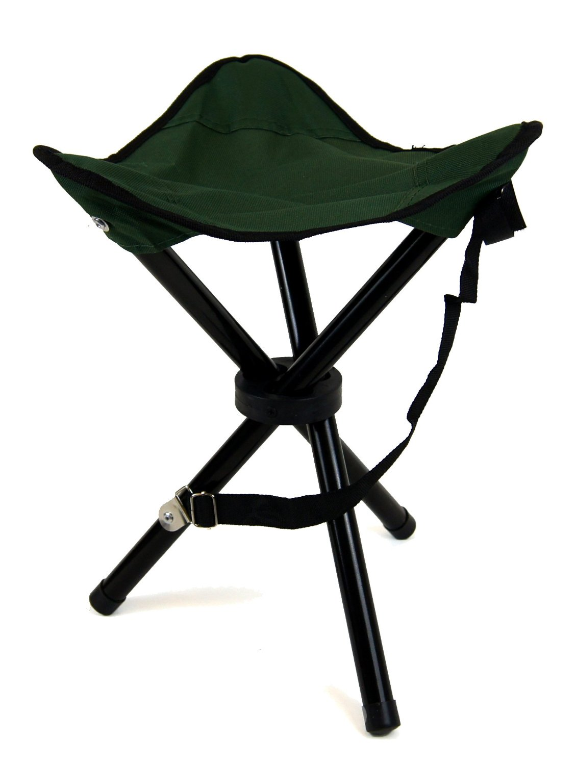 2 X Large Folding Camping Stool Seat Sports Camp Festivals