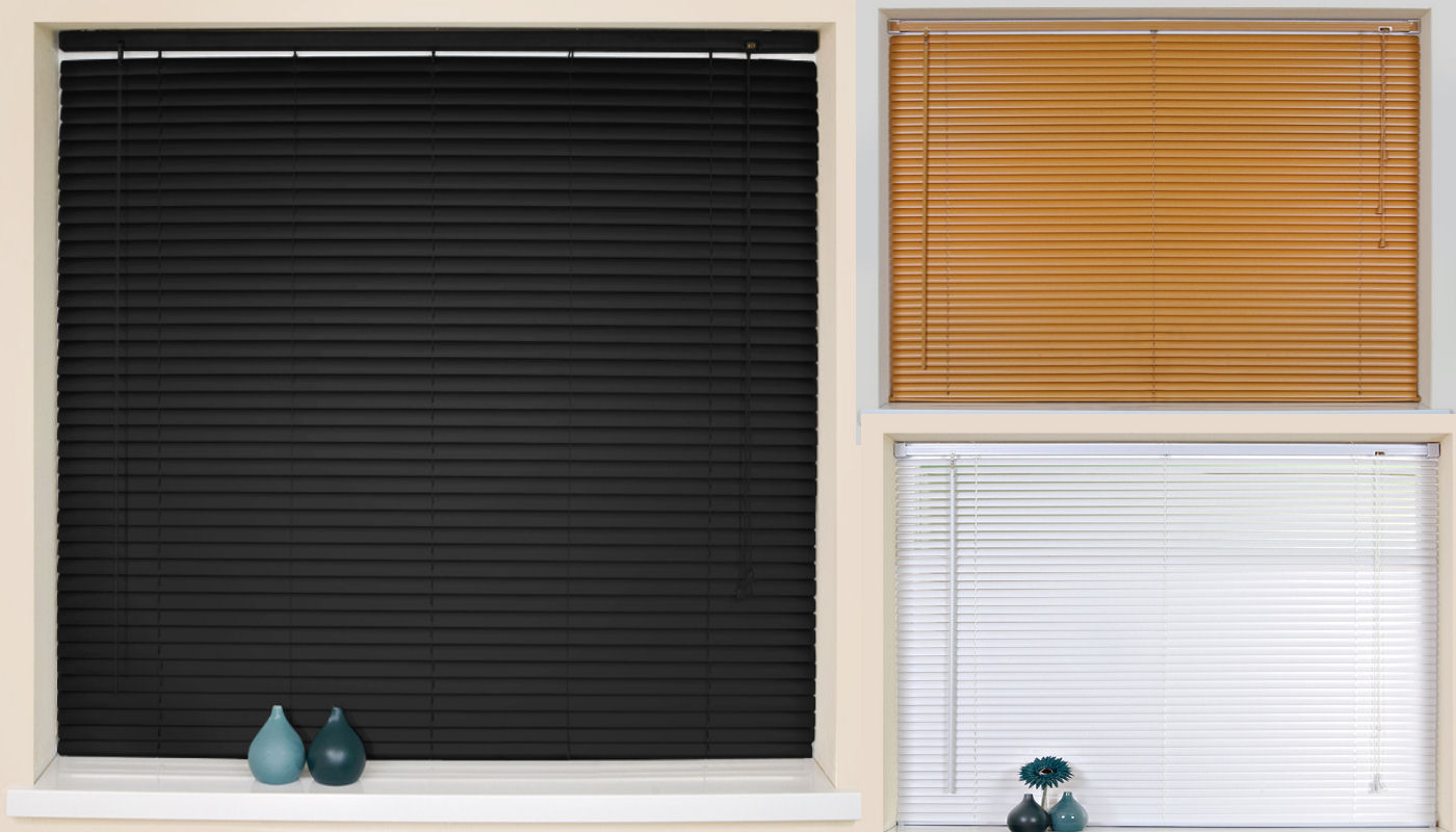 Black Window Blinds : Black window blinds grasscloth wallpaper