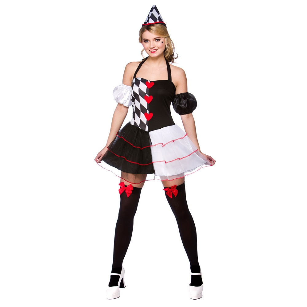 Queen-Of-Hearts-Ladies-Fancy-Dress-Costume-Alice-In-Wonderland-Fairytale-Outfit