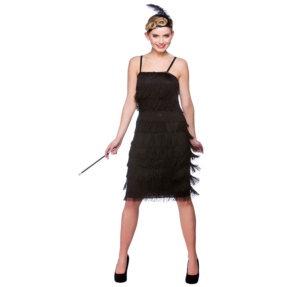 1920s jazzy flapper ladies fancy dress costume roaring 20s