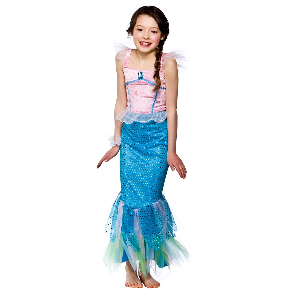 Little Mermaid Costumes. Showing 40 of results that match your query. Price. In-store purchase only. Product Title. Girl Pink Mermaid Medium Halloween Dress Up / Role Play Costume. Product - Kids Ariel Little Mermaid Set Girl Princess Dress Party Cosplay Costume Clothing. Product Image. Clothing, Electronics and Health & Beauty.