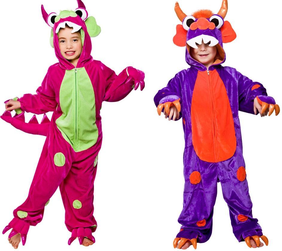 23117366b8a8 Image is loading Mini-Monster-Kids-Fancy-Dress-Costume-Monster-Onesie-