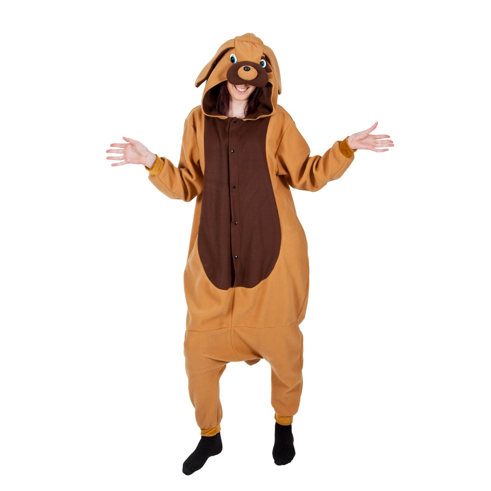 Onesie-Adults-Animal-Fleece-Onesies-Fancy-Dress-Costume-Ladies-Mens-Outfit-OS