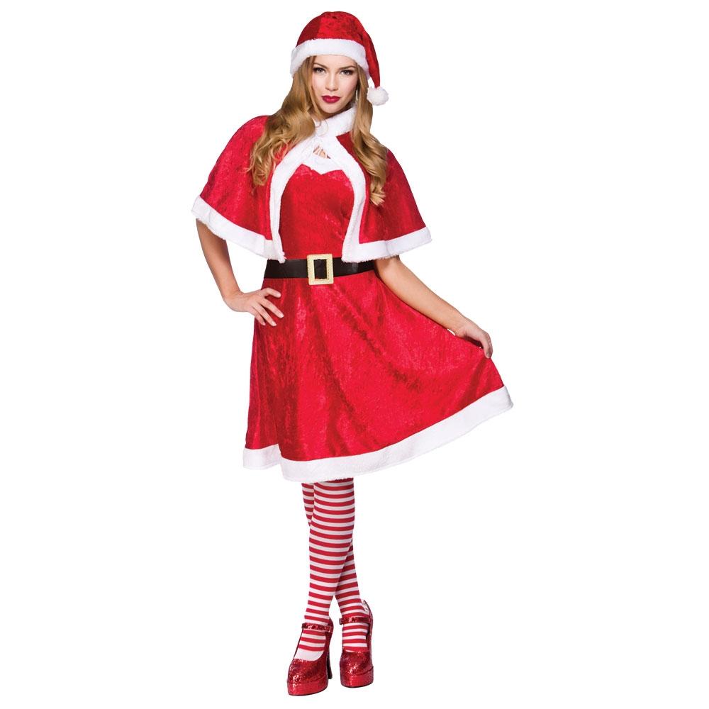 Santa Fancy Dress Costume Mens Amp Ladies Christmas Santa