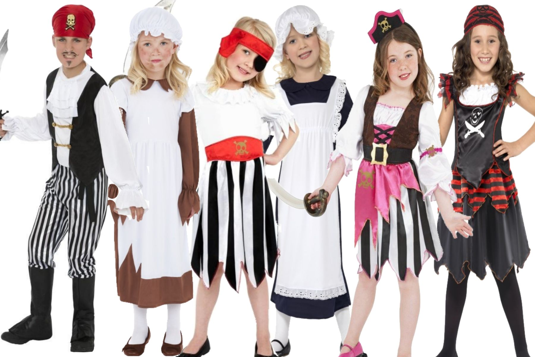 Child Fancy Dress Costume Kids Book Week Girls Boys Outfit Ages 7 To 12 Years