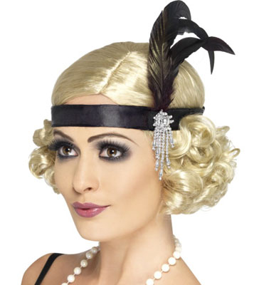 1920s Charleston Flapper Ladies Headband The Great Gatsby ...