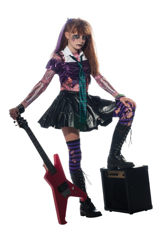 80s Punk Rocker Girls Fancy Dress Costume Halloween Punks  sc 1 st  Meningrey & Punk Rocker Halloween Costume - Meningrey