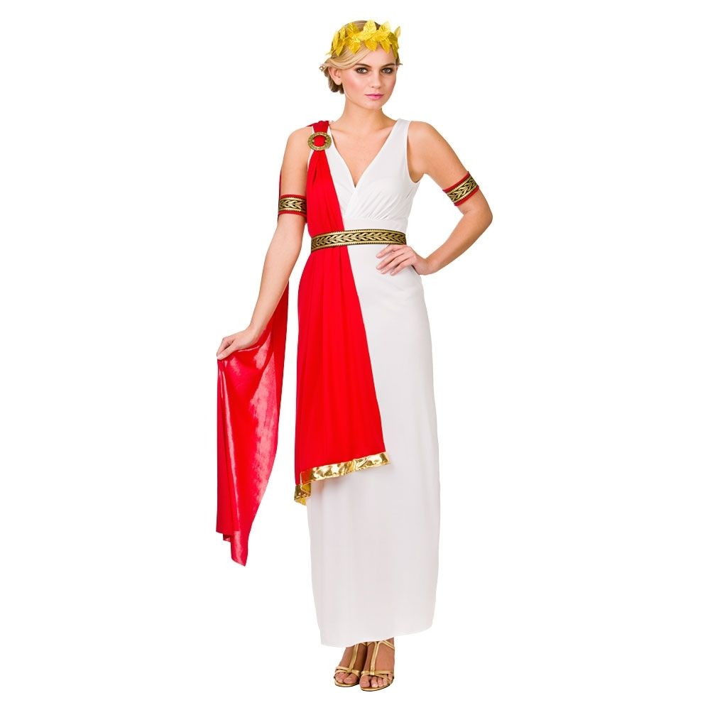 Luxury Adult Deluxe Roman Empress Costume  01257  Fancy Dress Ball