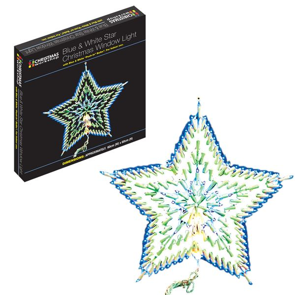 Multi function star light christmas window silhouette for 17 clear lighted star christmas window silhouette decoration