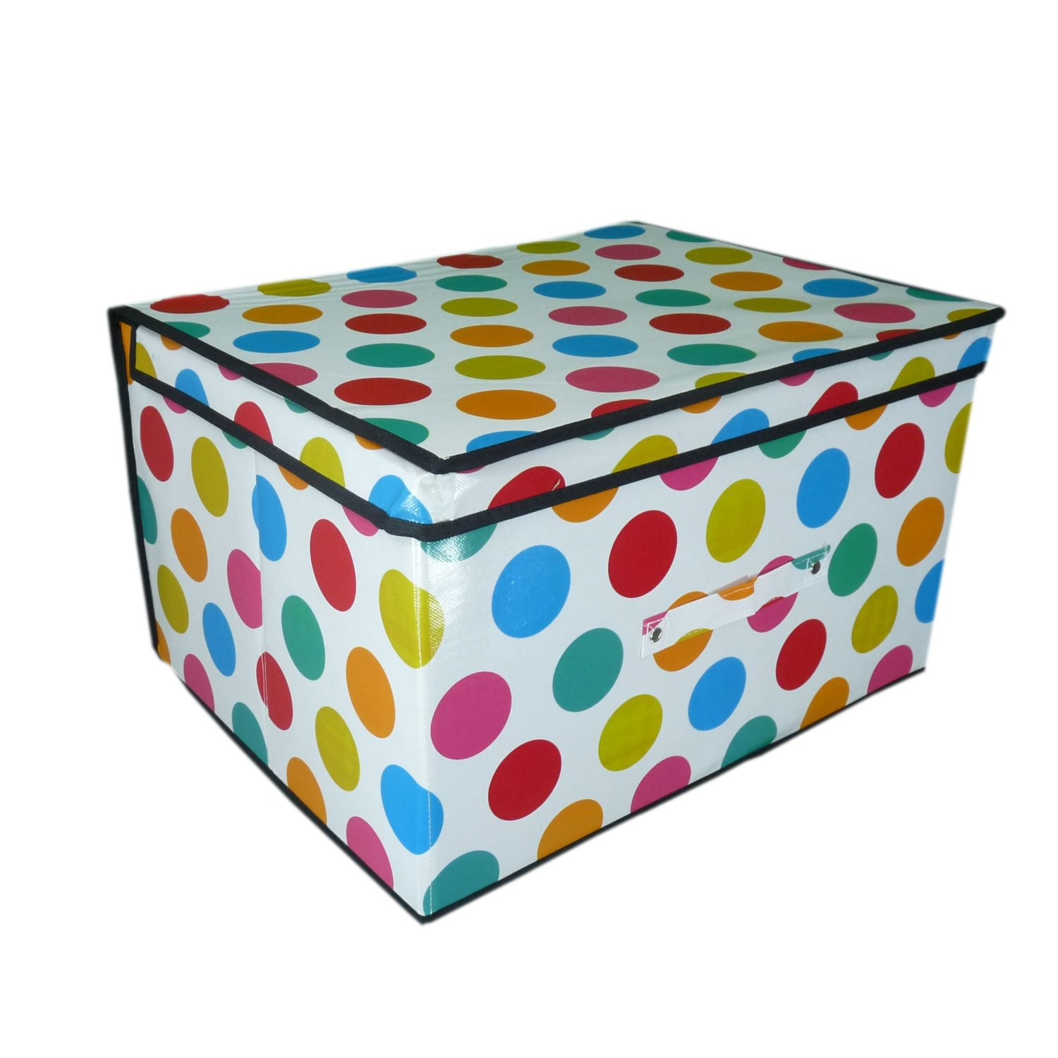 Childrens Jumbo Bedroom Room Tidy Toy Storage Chest Box Trunk: Jumbo Storage Box Quality Folding Kids Room Tidy Toy