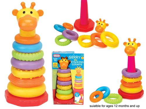 Stacking Toys For 12 Month Old : Toys for babies stacker childens toy gerry stacking