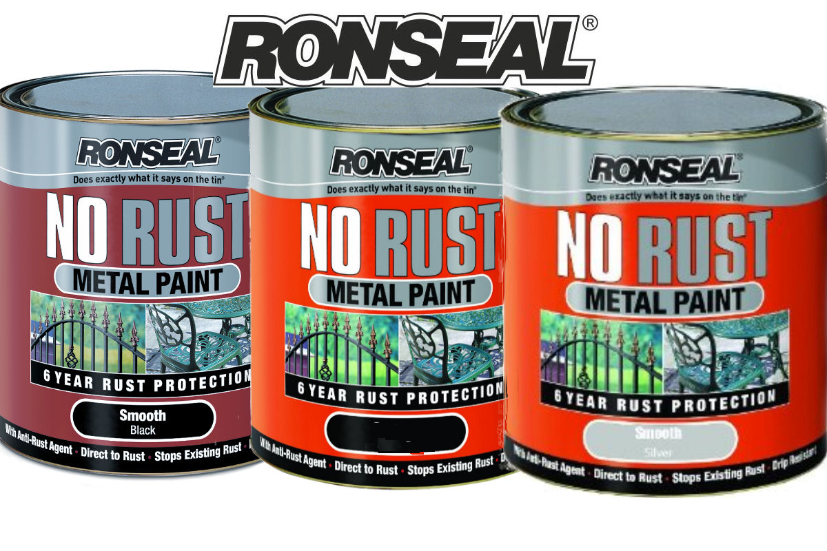 Ronseal No Rust Metal Paint Colours