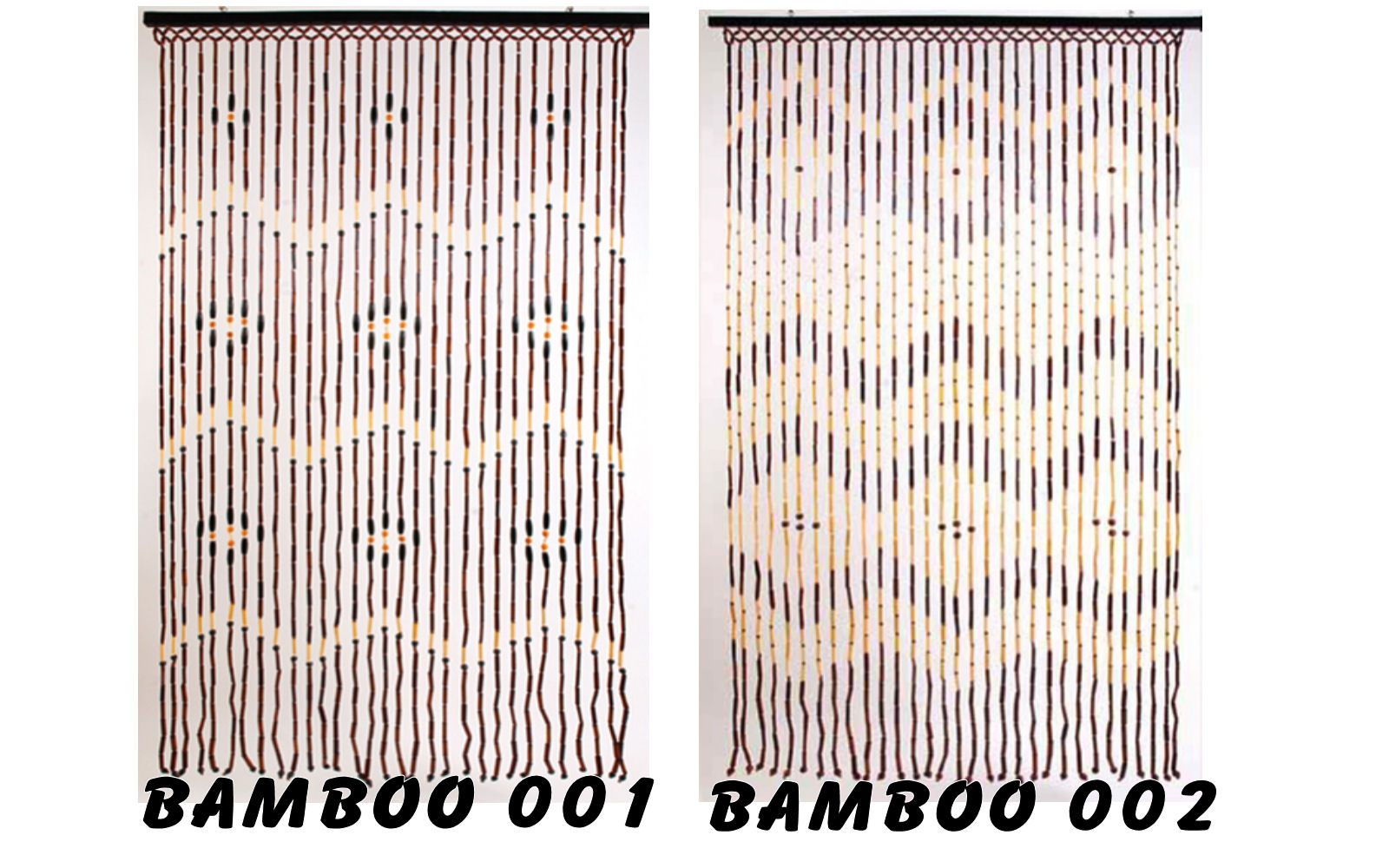bamboo beaded door curtain blind decorative door screen 2