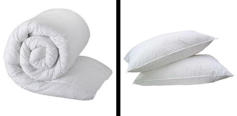 stepp bettdecke 2 kissen bett set einzel doppel king super king alle dicken neu ebay. Black Bedroom Furniture Sets. Home Design Ideas