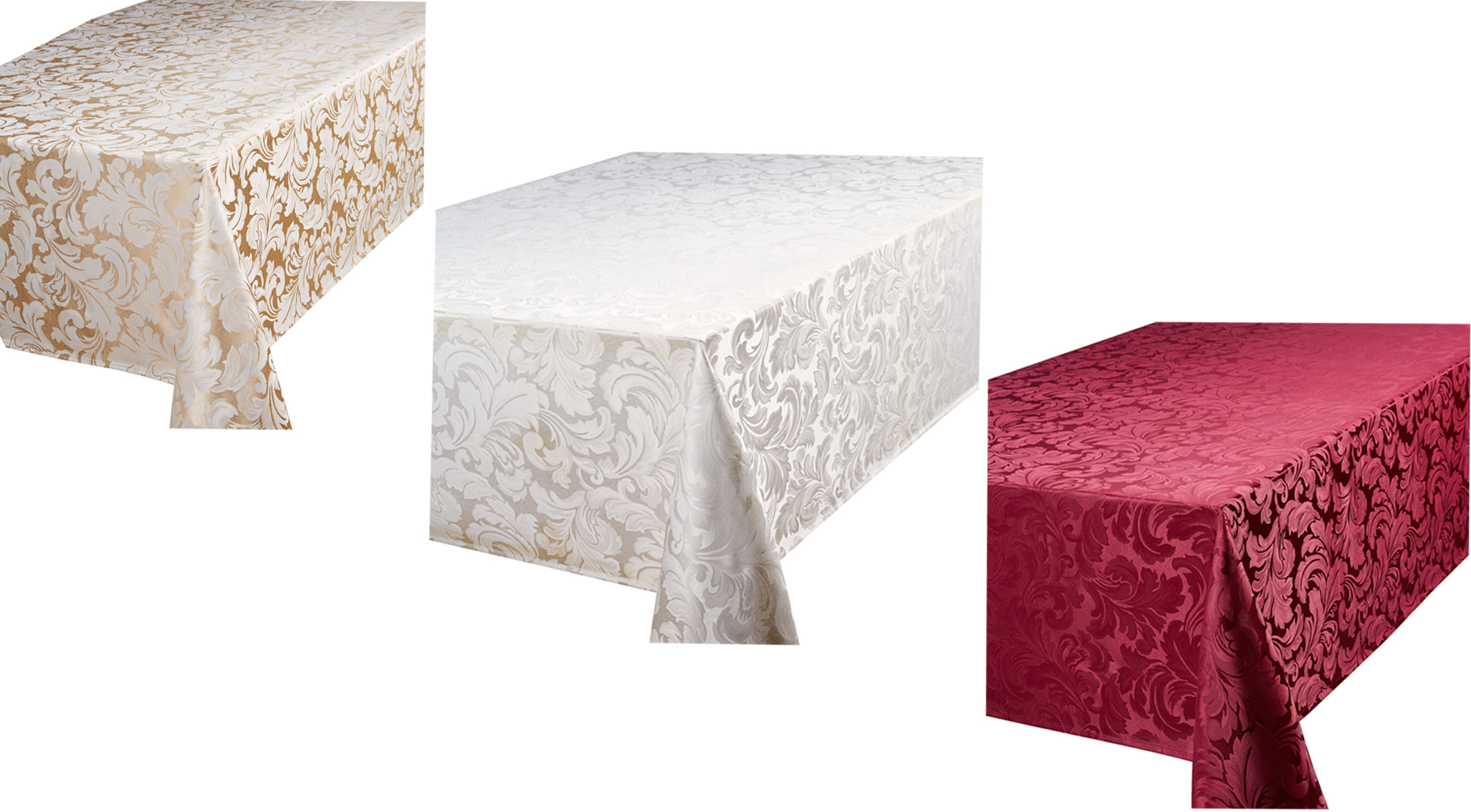 Tablecloths come in a wide range of sizes and shapes to suit a wide variety of tables and draping preferences. Standard tablecloth sizes range from 70 inches by 90 inches to inches round.